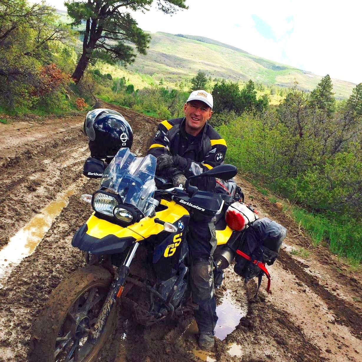 John Hax | Founder & Lead Guide 106 West Motorcycle Adventure Tours